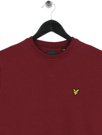 Lyle & Scott Crew Neck Sweatshirt Red