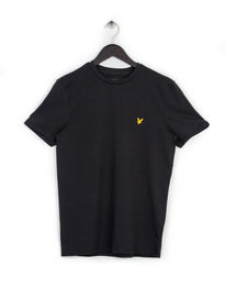 LYLE & SCOTT CREW NECK T-SHIRT BLACK