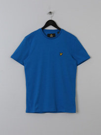 LYLE & SCOTT CREW NECK TSHIRT BLUE
