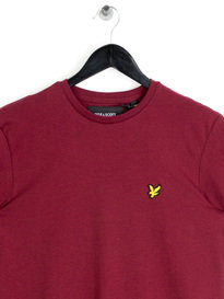 Lyle & Scott Crew Neck T-Shirt Claret