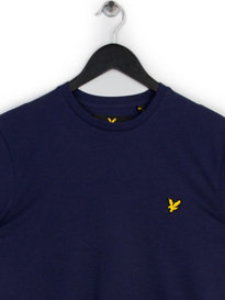 LYLE & SCOTT CREW NECK T-SHIRT NAVY