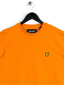 Lyle & Scott Crew Neck T-Shirt Orange