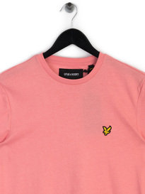 Lyle & Scott Crew Neck T-Shirt Pink