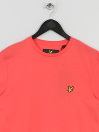 LYLE & SCOTT CREW NECK TSHIRT RED