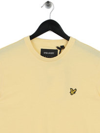 Lyle & Scott Crew Neck T-Shirt Z458 Yellow