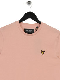 Lyle & Scott Crew Neck T-Shirt Z465 Pink