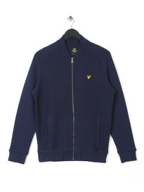 LYLE & SCOTT DOUBLE FACED BOMBER NAVY