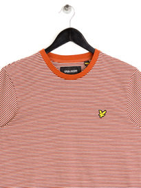 Lyle & Scott Feeder Striped T-Shirt Brown
