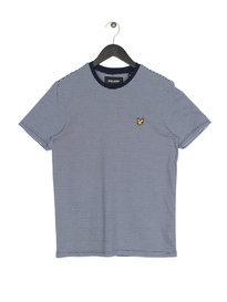 Lyle & Scott Feeder Stripe Short Sleeve T-Shirt Z99 Navy
