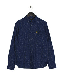 Lyle & Scott Fil Coupe Shirt  Z99 Navy