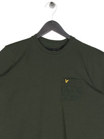 Lyle & Scott Flecked Pocket T-Shirt Green