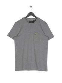Lyle & Scott Flecked Pocket T-Shirt Grey