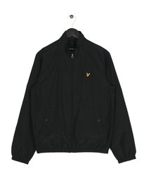 Lyle & Scott Funnel Neck Jacket 572 Black