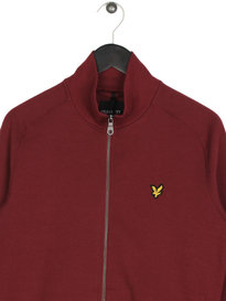 Lyle & Scott Funnel Neck Sweatshirt 477 Claret
