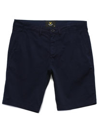 Lyle & Scott Garment Dye Short Navy