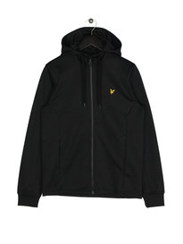 Lyle & Scott Hooded Tricot Jacket 572 Black