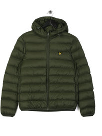 Lyle & Scott Lightweight Puffer Jacket Green