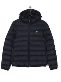 Lyle & Scott Lightweight Puffer Jacket Navy