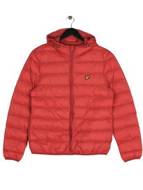 Lyle & Scott Lightweight Puffer Jacket Red