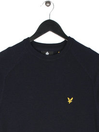 Lyle & Scott Links Panel Jumper Navy