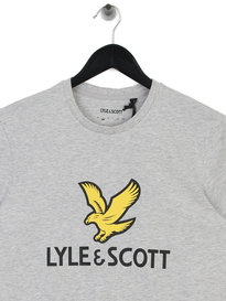 Lyle & Scott Logo T-Shirt D24 Grey