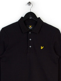 LYLE & SCOTT LS POLO SHIRT BLACK