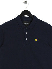 Lyle & Scott Marl Polo Shirt Z159 Navy