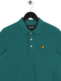 Lyle & Scott Marl Polo Shirt Z475 Green