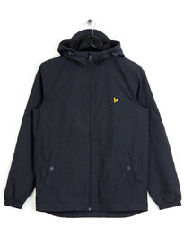 Lyle & Scott Microfleece Lined Zip Jacket Black