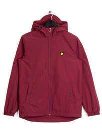 Lyle & Scott Microfleece Lined Zip Jacket Claret