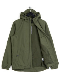 Lyle & Scott Microfleece Lined Zip Jacket Green
