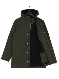 Lyle & Scott Microfleece Parka Jacket Green