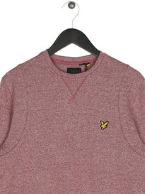 Lyle & Scott Mouline Sweatshirt 477 Claret