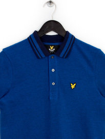 Lyle & Scott Oxford Polo Shirt Blue