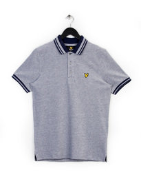 Lyle & Scott Oxford Polo Shirt Navy