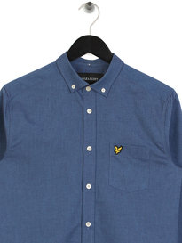 Lyle & Scott Oxford Shirt 030 Blue