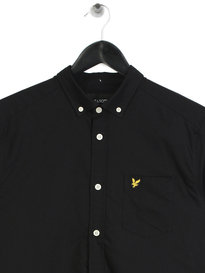 Lyle & Scott Oxford Shirt Black
