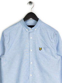 Lyle & Scott Oxford Shirt Blue