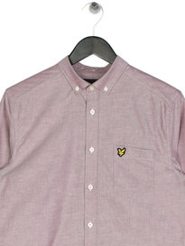 Lyle & Scott Oxford Shirt Claret