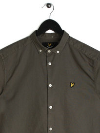 Lyle & Scott Oxford Shirt Green