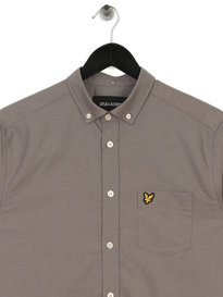 Lyle & Scott Oxford Shirt Grey