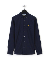 Lyle & Scott Oxford Shirt Navy