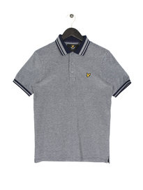 Lyle & Scott Oxford Short Sleeve Polo Z99 Navy