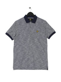 Lyle & Scott Oxford Slub Polo Navy