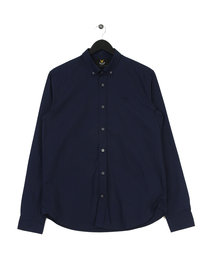 Lyle & Scott Pin Dot Shirt Navy