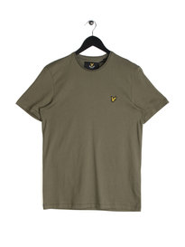 Lyle & Scott Plain Pick T-Shirt Green