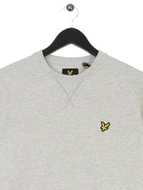 Lyle & Scott Plain Sweat Top Grey