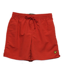 Lyle & Scott Plain Swim Short Red