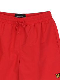 Lyle & Scott Plain Swim Shorts Red