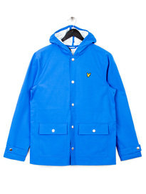 LYLE & SCOTT RAINCOAT JACKET BLUE